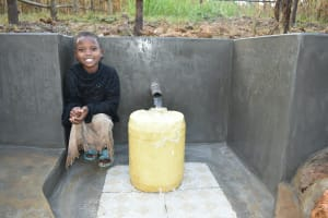 The Water Project: Sichinji Community, Kubai Spring -  Smiles At The Spring