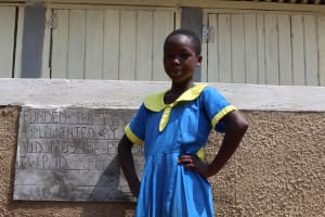 The Water Project: Musasa Primary School -  Posing With The Latrines
