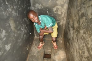 The Water Project: Shinyikha Primary School -  Inside The New Latrines