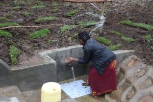 The Water Project: Emmachembe Community, Magina Spring -  Splash