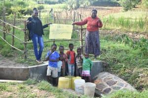 The Water Project: Sichinji Community, Kubai Spring -  Thank You