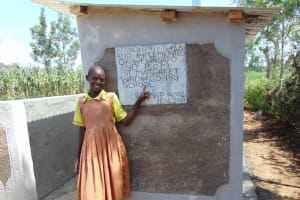 The Water Project: St. Margret Wadin'go Primary School -  Posing With The New Latrines