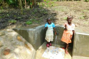 The Water Project: Bung'onye Community, Shilangu Spring -  Full Of Giggles