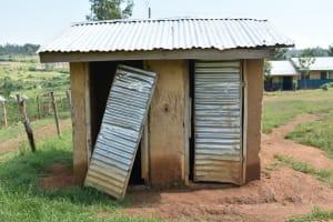 The Water Project: Khwihondwe SA Primary School -  Boys Latrines