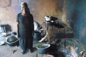 The Water Project: Friends Mixed Secondary School Lwombei -  School Cook Inside Kitchen