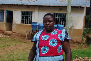 The Water Project: Kapsogoro Primary School -  Teacher Mrs Beatrice Mukhwalia
