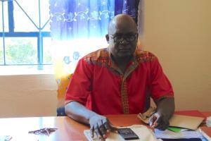 The Water Project: Malinda Secondary School -  Head Teacher Mr Charles Shikuku