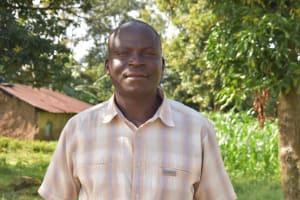 The Water Project: Mungakha Community, Nyanje Spring -  Mzee Patrick Nyanje