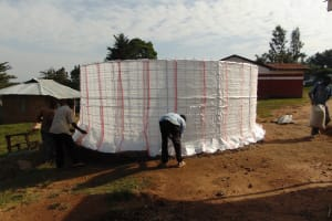 The Water Project: Goibei Primary School -  Adding Tarps To The Form