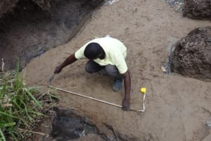 The Water Project: Bungaya Community, Charles Khainga Spring -  Site Marking
