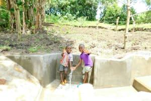 The Water Project: Bung'onye Community, Shilangu Spring -  Hi From Shilangu Spring