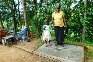 The Water Project: Bung'onye Community, Shilangu Spring -  New Sanitation Platform Owners