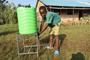 The Water Project: Shinyikha Primary School -  Handwashing The Good Practice