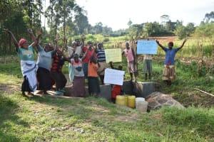The Water Project: Sichinji Community, Kubai Spring -  Celebrating The Spring