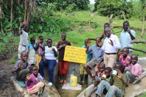 The Water Project: Bung'onye Community, Shilangu Spring -  Spring Dedication