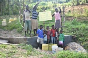 The Water Project: Sichinji Community, Kubai Spring -  All Smiles At Kubai Spring