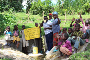 The Water Project: Bung'onye Community, Shilangu Spring -  Thank You
