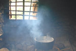 The Water Project: Kapsaoi Primary School -  Food Cooking Inside Kitchen