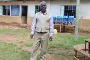 The Water Project: Kapsogoro Primary School -  Teacher Mr John Siva