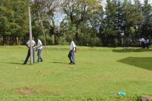 The Water Project: Friends Secondary School Shirugu -  Boys On The Playground