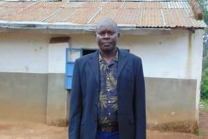 The Water Project: Kapkoi Primary School -  Head Teacher Mr Joseph Saina