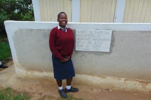 The Water Project: Ematiha Secondary School -  Standing Proud With The Latrines