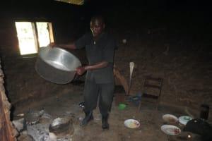 The Water Project: St. Gerald Mayuge Secondary School -  School Cook At Work