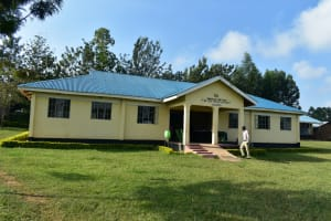 The Water Project: ACK St. Peter's Khabakaya Secondary School -  Administration Block