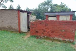 The Water Project:  Boys Latrine Block
