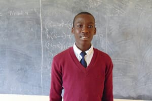 The Water Project: Friends Secondary School Shirugu -  Student James