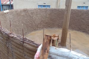 The Water Project: Womulalu Special School -  Peering Inside The Tank