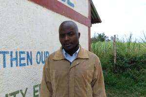 The Water Project: Friends School Ikoli Secondary -  Teacher Marango Nyongesa