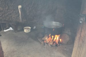 The Water Project: St. Gerald Mayuge Secondary School -  Cooking Food