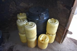 The Water Project: Ebubole UPC Secondary School -  Water Storage Containers
