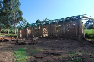 The Water Project: Friends Kuvasali Secondary School -  New Classroom Under Construction