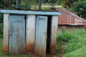 The Water Project: Kapsaoi Primary School -  Latrine Block