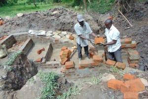The Water Project: Bung'onye Community, Shilangu Spring -  Brick By Brick