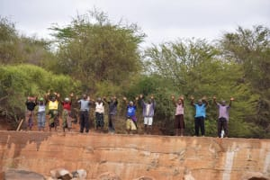 The Water Project: Mukuku Community -  Celebrating The Completed Dam