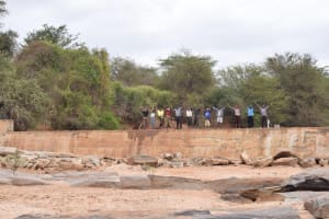 The Water Project: Mukuku Community -  Shg Members Celebrate On Their New Dam