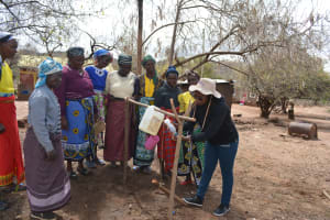 The Water Project: Tulimani Community -  Tippy Tap Demostration