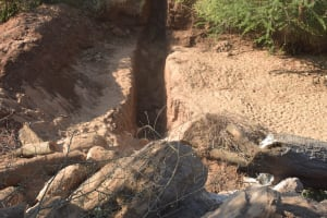 The Water Project: Tulimani Community -  Trenching