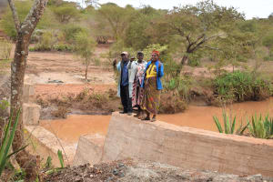 The Water Project: Kala Community B -  Celebrating Completed Dam