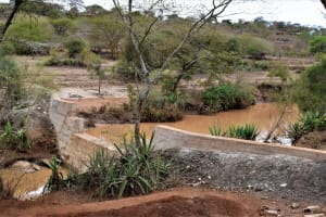 The Water Project: Kala Community B -  Complete Sand Dam