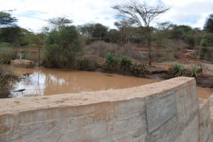 The Water Project: Kala Community B -  Dam And Well