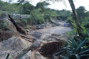 The Water Project: Kala Community B -  Dam Site