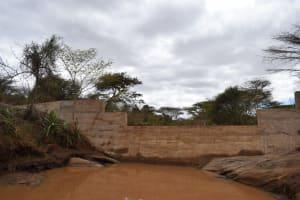 The Water Project: Kala Community B -  Dam