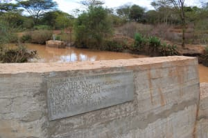 The Water Project: Kala Community B -  Plaque