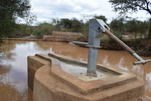 The Water Project: Kala Community B -  View Of Dam From Well