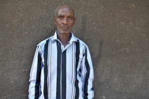The Water Project: Mbiuni Community -  Eluid Kyungu Water User Committee Chairperson