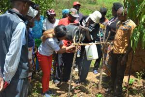 The Water Project: Mbiuni Community -  Handwashing Demonstration